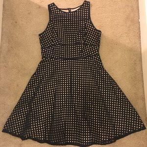 Checkered loft dress